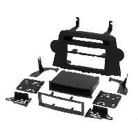 Facade autoradio Toyota Kit Facade autoradio 1 DIN pour Toyota Highlander ap08 avec vide poche - ADNAuto