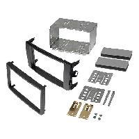 Facade autoradio Toyota Kit Integration autoradio 2DIN pour Toyota Auris 07-12 - anthracite - ADNAuto