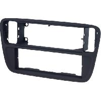 Facade autoradio VW Facade autoradio 1Din compatible avec Seat Mii VW UP Skoda City Go - noir