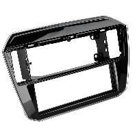 Facade autoradio VW Facade autoradio FA32029 compatible avec VW up 17-20 noir brillant