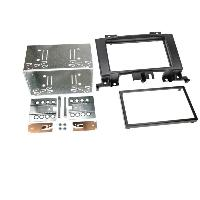 Facade autoradio VW Kit 2DIN pour Mercedes Spinter W906 VW Crafter ap06 - Noir - ADNAuto