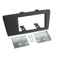 Facade autoradio Volvo Kit Support autoradio compatible avec Volvo S60 V70 XC70 00-03 - 2DIN noir
