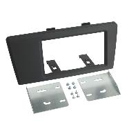 Facade autoradio Volvo Kit Support autoradio pour Volvo S60 V70 XC70 00-03 - 2DIN noir ADNAuto