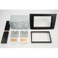 Facade autoradio Volvo Kit integration pour Volvo XC90 Noir Generique