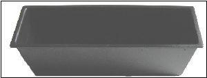 Facades et supports Autoradio Vide poche 1DIN pour emplacement autoradio - 188x59x70mm Generique