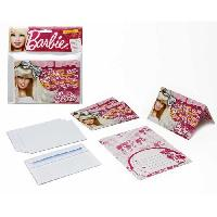 Faire-part - Carte D'invitation ATOSA Pack de 4 cartes d'invitations - Collection Barbie - Fille - 15x10 cm