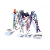 Faisceau Installation Kit Main Libre Faisceau adaptateur Mute KML compatible avec HyundaI Kia ap09 Sans ampli