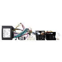Faisceau Installation Kit Main Libre Faisceau mute KML compatible avec Citroen ISO avec ampli 4 HP