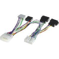 Faisceau Installation Kit Main Libre Fiche Iso compatible avec Honda Fiat Suzuki Opel Nissan Cable MUTE