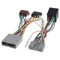 Faisceau Installation Kit Main Libre Fiches ISO Installation Kit Main Libre compatible avec Citroen Honda Mitsubishi Peugeot