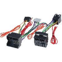 Faisceau Installation Kit Main Libre Fiches ISO Installation Kit Main Libre compatible avec Mercedes avec Audio 20-30