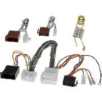 Faisceau Mute Citroen Fiches ISO Installation Kit Main Libre Rockford compatible avec Citroen Mitsubishi Peugeot