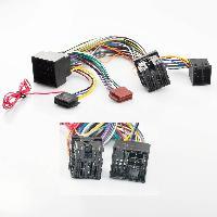 Faisceau Mute Citroen Fiches ISO Installation Kit Main Libre compatible avec Peugeot Citroen ap17 - Cable MUTE