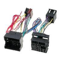 Faisceau Mute Fiat Fiches ISO Installation Kit Main Libre compatible avec Fiat Qubo ap08 Scudo ap07 Ulysse ap02
