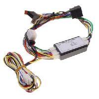 Faisceau Mute Mercedes Fiches ISO Installation Kit Main Libre compatible avec Peugeot Citroen av04 - Systeme Audio JBL