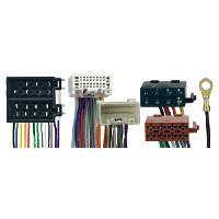 Faisceau Mute Mitsubishi Fiches ISO Installation Kit Main Libre pour Mitsubishi - Citroen - Peugeot - RAC2302X Caliber