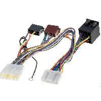 Faisceau Mute Nissan Fiches ISO Installation Kit Main Libre compatible avec Nissan Opel Renault
