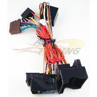 Faisceaux Audi Fiches ISO Installation Kit Main Libre pour VW Audi Skoda Seat - Cable MUTE - RAC3200X - ADNAuto
