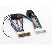 Faisceaux Installation Kit Main Libre Cable Mute pour Jaguar XJ6XJ8XK8 av14 sans ampli - ADNAuto