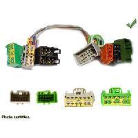 Faisceaux Installation Kit Main Libre Faisceau adaptateur Iso Parrot pour Volvo - Cable MUTE - ADNAuto