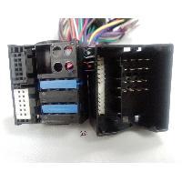 Faisceaux Installation Kit Main Libre Faisceau adaptateur Parrot 40 Broches pour BMW Serie 1 3 7 X1 Z4 Mini - Cable MUTE