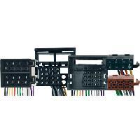 Faisceaux Mercedes Fiches ISO Installation Kit Main Libre pour Mercedes SLK ap04 -Avec Systeme Audio 20-