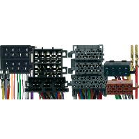Faisceaux Opel Fiches ISO Installation Kit Main Libre Opel - 26-pins av04 -Iso 10-pins inclus-
