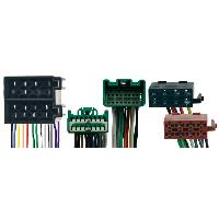 Faisceaux Volvo Fiches ISO Installation Kit Main Libre pour Volvo ap04 avec connecteur 16 pins - Caliber