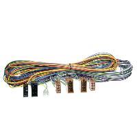 Faisceaux pour KML Rallonge ISO Autoradio pour Kit Main Libre - 5m - ADNAuto