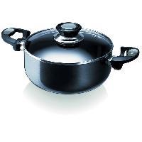 Faitout - Marmite BEKA Faitout Pro Induc - O 20 cm - Noir et transparent - Tous feux dont induction