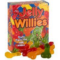 Fantaisie et Humour Bonbons Forme Penis Saveurs Fruits - 120 g
