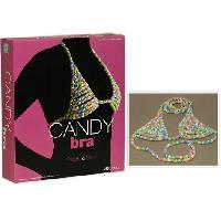 Fantaisie et Humour Soutien-gorge Candy Comestible