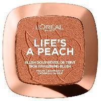 Fard A Joue - Blush  L'OREAL PARIS Blush doux reveil de teint Life's a Peach