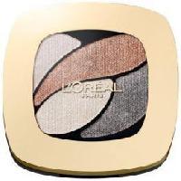 Fard A Paupiere - Ombre A Paupiere Color Riche Quads fard a paupieres - E4 Marron Glace