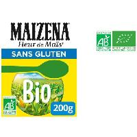 Farine - Fecule Fleur de mais bio - Sans gluten - 200 g