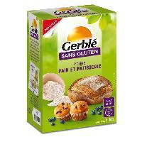 Farine - Fecule GERBLE Farine Pain et Patisserie sans gluten - 1 kg