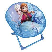 Fauteuil - Canape Bebe Fun House Disney Reine des Neiges siege lune pliable pour enfant - Jemini