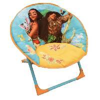 Fauteuil - Canape Bebe Fun House Disney Vaiana siege lune pliable pour enfant