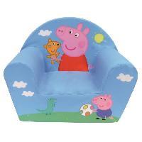 Fauteuil - Canape Bebe Fun House Peppa Pig fauteuil club en mousse pour enfant
