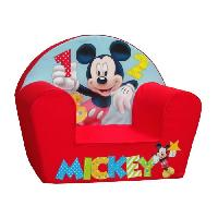 Fauteuil - Canape Bebe MICKEY Fauteuil Rouge