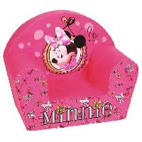 Fauteuil - Canape Bebe MINNIE Fauteuil Club Fashionista Rose - Disney Baby