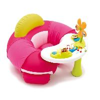 Fauteuil - Canape Bebe SMOBY Cotoons Cosy Seat 2 en 1 - Rose
