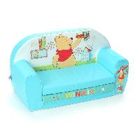 Fauteuil - Canape Bebe WINNIE L'Ourson Canape Mousse Sofa Tidy Time - Disney Baby - Nicotoy