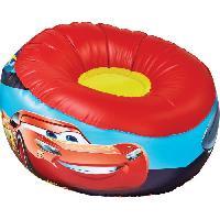 Fauteuil - Chaise Longue - Matelas Gonflable Piscine CARS Fauteuil gonflable pour enfants
