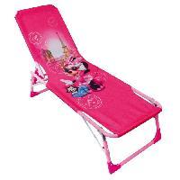 Fauteuil - Chaise Longue - Matelas Gonflable Piscine Fun House Disney Minnie bain de soleil - transat pour enfant