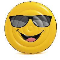 Fauteuil - Chaise Longue - Matelas Gonflable Piscine INTEX Matelas gonflable Ile Smile