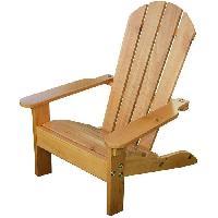 Fauteuil - Chaise Longue - Matelas Gonflable Piscine KIDKRAFT 00083 Chaise pour Enfant Adirondack - Miel