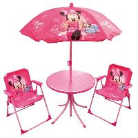 Fauteuil - Chaise Longue - Matelas Gonflable Piscine MINNIE Set De Jardin - Disney