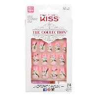 Faux Ongles - Capsule - Tips - Forme - Prothese KISS The Collection Extravag - Generique