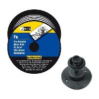 Fer A Souder - Poste A Souder DECA Bobine fil acier pour soudure MIG/MAG Ø fil 0.8 mm 5 kg avec adaptateur